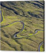 Haleakala Highway Canvas Print