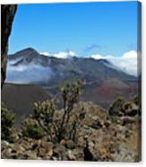Haleakala Overlook Canvas Print