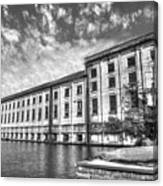 Hales Bar Dam B W Tennessee Valley Authority Tennessee River Art Canvas Print