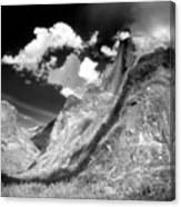 Half Dome - Alternative View - Yosemite Canvas Print