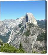 Half Dome From Inspiration Point Canvas Print