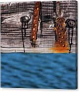 Half Wood Canvas Print