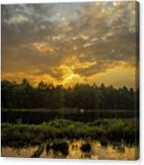 Haliburton Sunrise Canvas Print