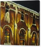 Halifax Ale House In Ice Canvas Print