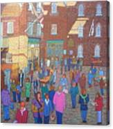 Halifax Farm Market Canvas Print