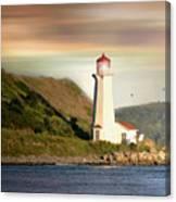 Halifax Harbor Lighthouse Canvas Print