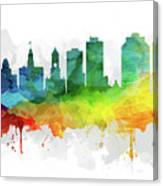 Halifax Skyline Mmr-canshx05 Canvas Print