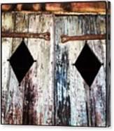 Hall Doors Canvas Print