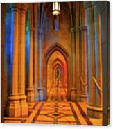 Hall Of The Cathedral Canvas Print