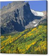 310221-v-hallet Peak In Autumn V  Canvas Print