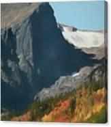 Hallett Peak Fall Colors Canvas Print