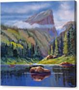 Hallett Peak Canvas Print