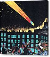 Halleys Comet, 1910 Canvas Print