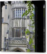 Hallowed Halls In Oxford Canvas Print