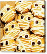 Halloween Baking Treats Canvas Print