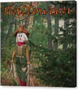 Halloween Card Canvas Print