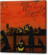 Halloween Harvest Canvas Print