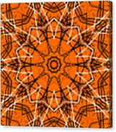 Halloween Kaleidoscope 12 Canvas Print