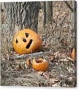 Halloween Leftovers Canvas Print