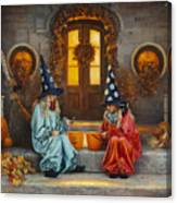 Halloween Sweetness Canvas Print