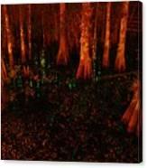 Halloween Woods Canvas Print