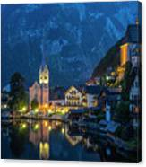 Hallstat Village Canvas Print