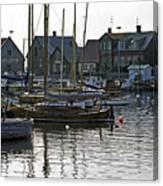 Halsingborg Marina 1 Canvas Print
