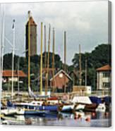 Halsingborg Marina 2 Canvas Print