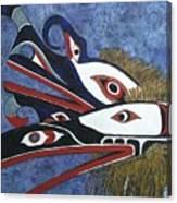Hamatsa Masks Canvas Print