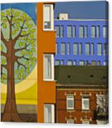 Hamburg Layers 1 Canvas Print
