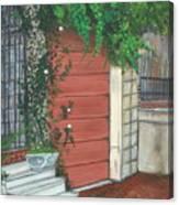 Hamburg Street Garage Canvas Print