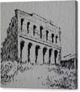Hamilton Ghost Town Nevada Canvas Print