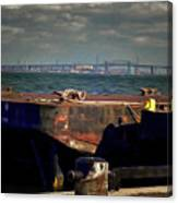 Hamilton Harbor- Pier 8 Canvas Print