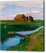 Hamme Huette Canvas Print