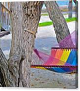 Hammock Time In The Florida Keys Canvas Print
