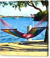 Hammock Time In The Keys Canvas Print