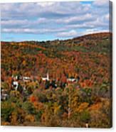 Hammondsport Panorama Canvas Print