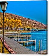 Hammondsport Waterfront Canvas Print