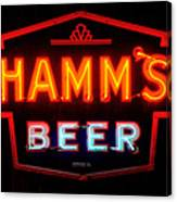 Hamm's Beer Canvas Print