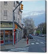 Hampshire Cafe Hampshire Street Cambridge Ma Canvas Print