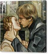 Han And Leia Canvas Print