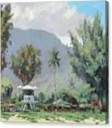Hanalei Tower Canvas Print