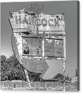 Hancock Gas Sign Canvas Print