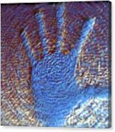 Hand That Giveth Canvas Print