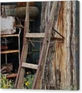 Hand Truck Of The Past Canvas Print