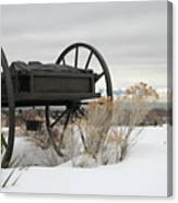 Handcart Monument Canvas Print
