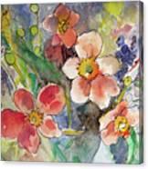 Handpicked Bouquet No. 2 Canvas Print