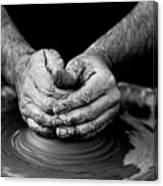 Hands That Shape Canvas Print