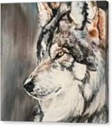 Handsome Wolf Canvas Print