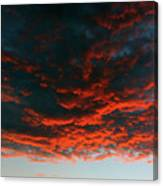 Hanging Clouds Canvas Print